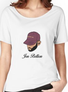 Jon Bellion face beautiful mind with text Women's Relaxed Fit T-Shirt