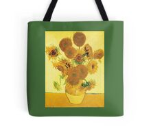 Van Gogh's Sunflowers in a Vase Tote Bag
