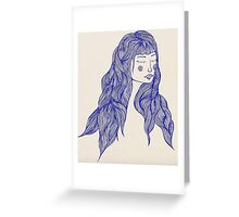 Blissful Serenity Greeting Card