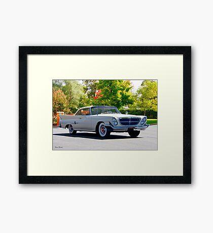 1961 Chrysler 300 G Hardtop Framed Print