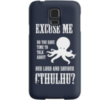 Our Lord And Saviour Cthulhu Samsung Galaxy Case/Skin