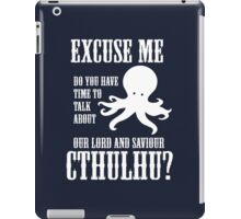 Our Lord And Saviour Cthulhu iPad Case/Skin