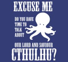 Our Lord And Saviour Cthulhu by jezkemp