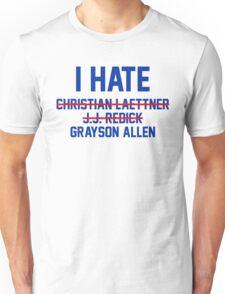 I Hate Grayson Allen Unisex T-Shirt