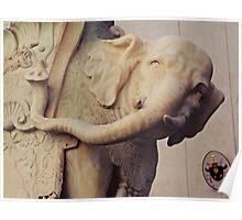 Bernini's Elephant Poster