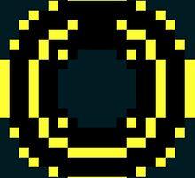 8 Bit Disc Gold by Savark