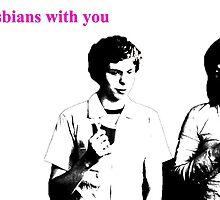 Scott Pilgim-Im in lesbians with you. by crimsonking842