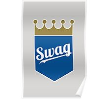 Royal Swag Crown Poster