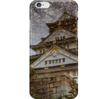 大阪城 iPhone Case/Skin