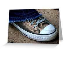 #34   Golden Chucks Greeting Card