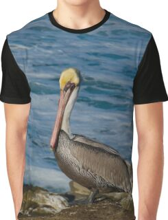 Alone at the beach Graphic T-Shirt