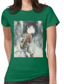 Undressed III Womens Fitted T-Shirt