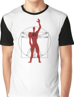Modulor / Vitruvian Man Graphic T-Shirt