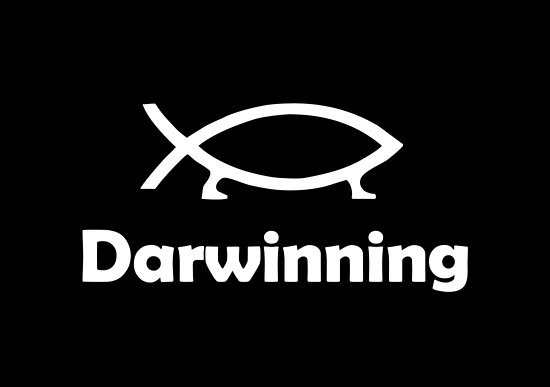 Darwinning (White design) by jezkemp