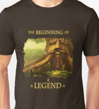 Beginning of a Legend Unisex T-Shirt