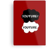 Youtube - TFIOS (red) Metal Print