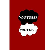 Youtube - TFIOS (red) Photographic Print