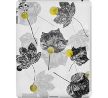 Leaves Abstract 1 iPad Case/Skin