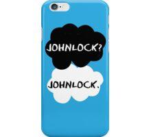 Johnlock - TFIOS iPhone Case/Skin