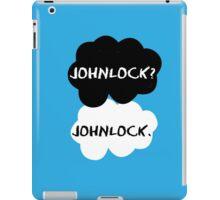 Johnlock - TFIOS iPad Case/Skin