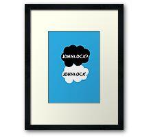 Johnlock - TFIOS Framed Print