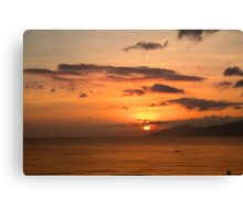 Sunrise Sky Vietnam Canvas Print