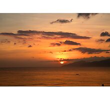 Sunrise Sky Vietnam Photographic Print