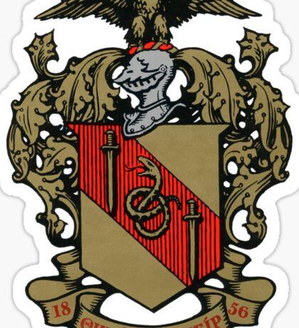 Theta Chi Crest Sticker