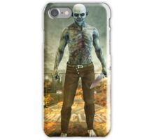 Crazy Scary Monster Apocalyptic Scene iPhone Case/Skin