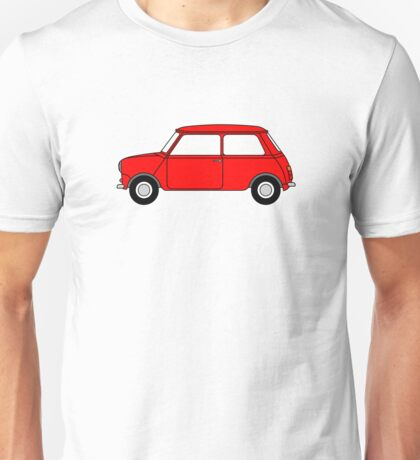 Mini Red Unisex T-Shirt