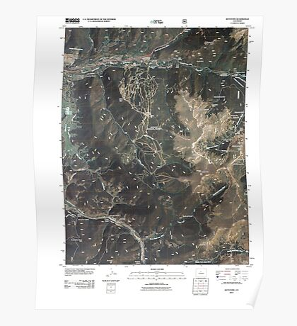 USGS TOPO Map Colorado CO Keystone 20110519 TM Poster