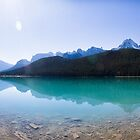 Waterfoul Lake, Banff National Park by Greg Clifford