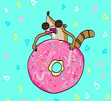 Rigby's Donut by Breanna Dolly