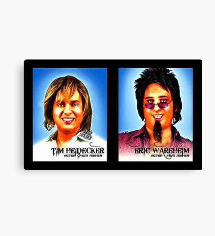 Tim And Eric Canvas Print