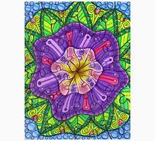 Floral Puzzle Mandala Unisex T-Shirt