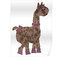 Lucy Llama Poster