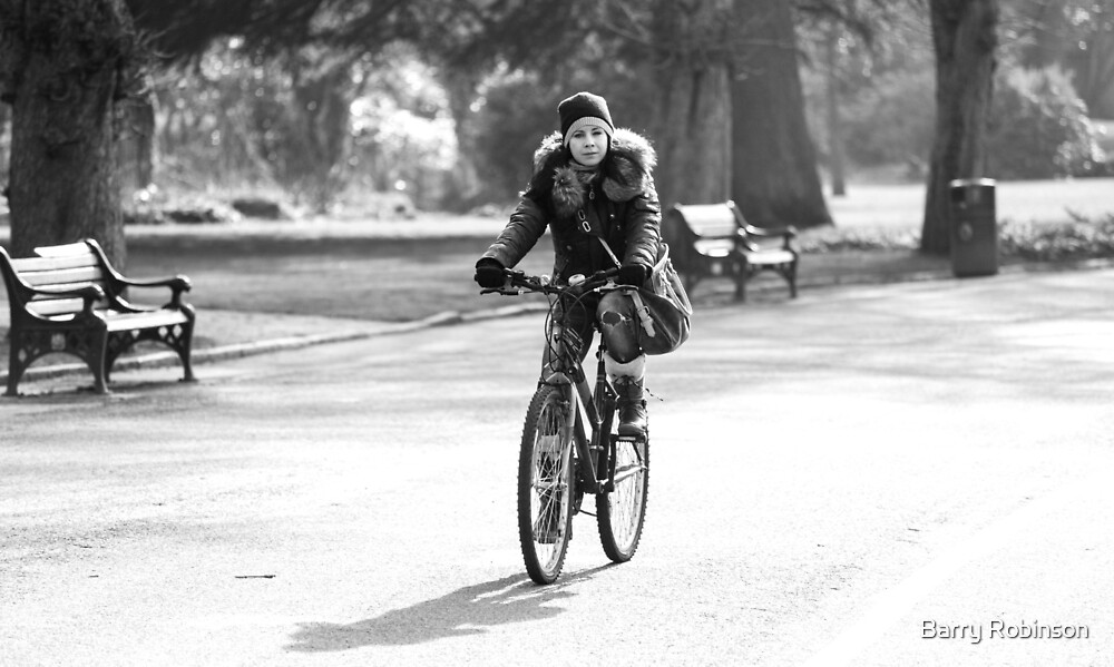 Cycling by Barry Robinson