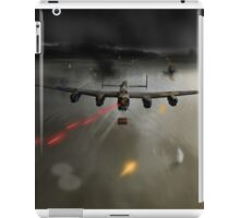 P-Popsie attacking the Mohne Dam iPad Case/Skin