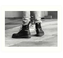 Dr Boots Art Print