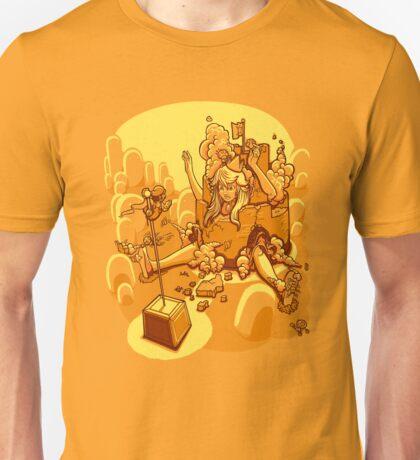 Peach in Wonderland Unisex T-Shirt
