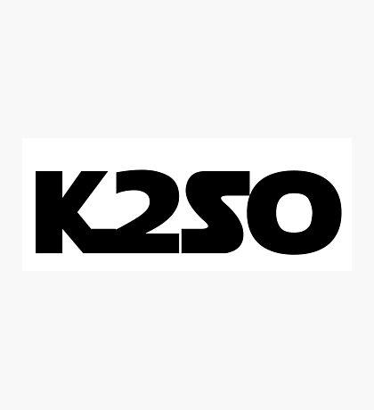K2SO Photographic Print
