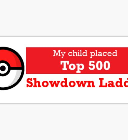 My Child is a Showdown Hero Bumper Sticker Sticker
