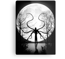 Always watches... NO EYES Metal Print