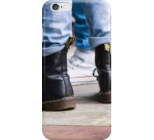 Dr Boots - Color iPhone Case/Skin