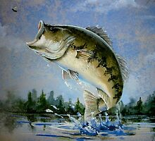 The Catch of the Day by ccooperfineart
