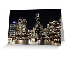 Sydney Night Greeting Card
