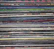 Vinyl Stack by Steve Falla