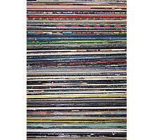 Vinyl Stack Photographic Print