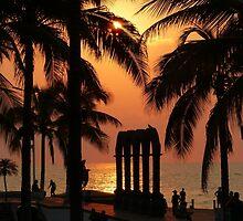 pictures of a sunset I - imagenes de una puesta del sol by Bernhard Matejka