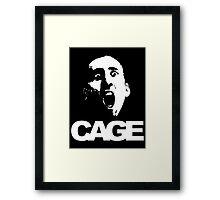 Nicolas Cage #1 Framed Print